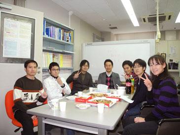 post-doctoral dissertation celebration